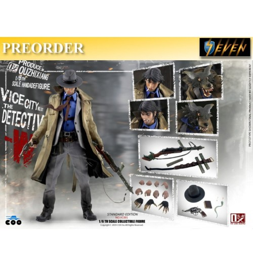 PREORDER: COO Model x OuXhiZhiang 1/6 VC001 Vice City - The Detective W: Standard Boxset