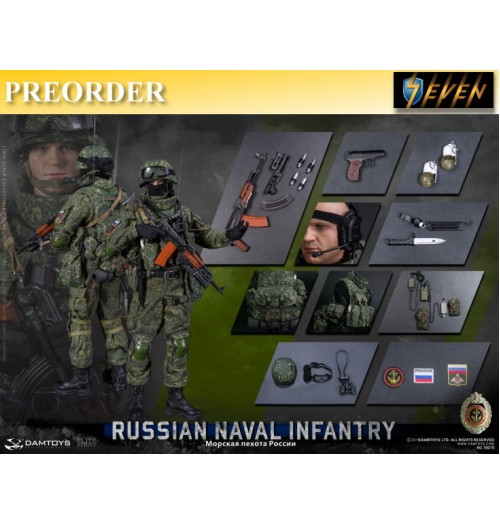PREORDER: DAM Toys 1/6 Russian Naval Infantry: Boxset