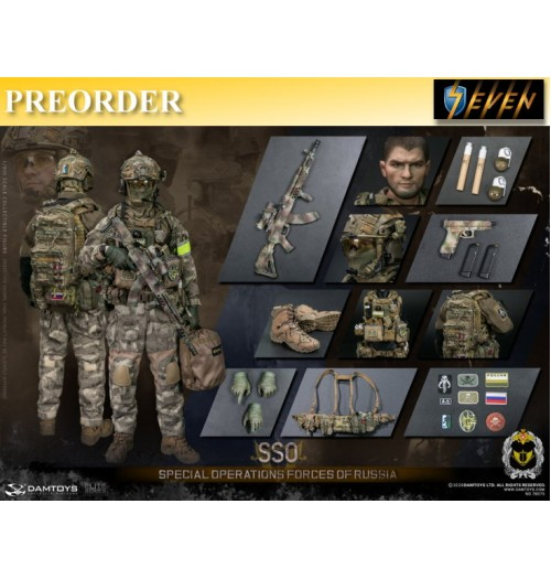 PREORDER: DAM Toys 1/6 Special Operations Forces Of Russia (SSO): Boxset