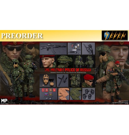 PREORDER: DAM Toys 1/6 78086 Armed Forces of the Russian Federation - Russian Military Police: Boxset
