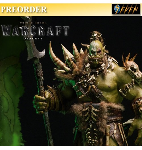 "PREORDER: DAM Toys 29"" Epic Series : Warcraft movie Kilrogg Deadeye 29"" Premium Statue"