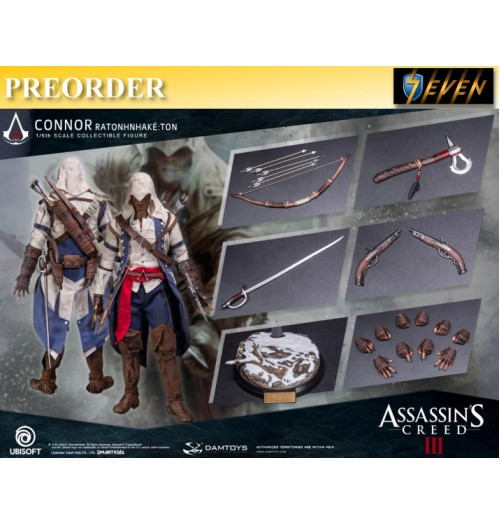 PREORDER: DAM Toys 1/6 Assassin's Creed III - Connor: Boxset