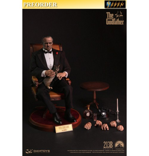 PREORDER: DAM Toys 1/6 DMS032 The Godfather 1972 - Vito Corleone (Formal version): Boxset