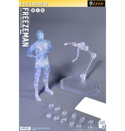 PREORDER: DAM Toys 1/12 DPS05 Pocket Elite Series: Freezeman: Boxset