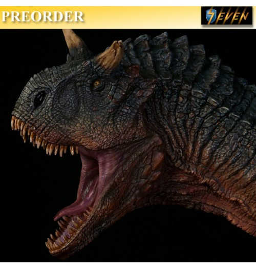 PREORDER: DAM Toys: Museum Series - Carnotaurus (Male) Bust Statue (MUS005A)