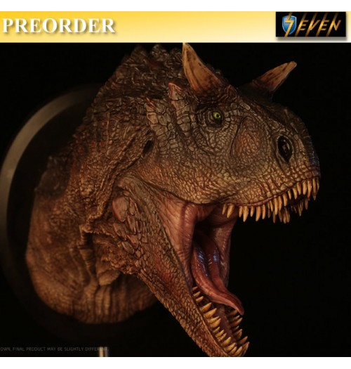 PREORDER: DAM Toys: Museum Series - Carnotaurus (Male) Bust Statue (MUS005B)