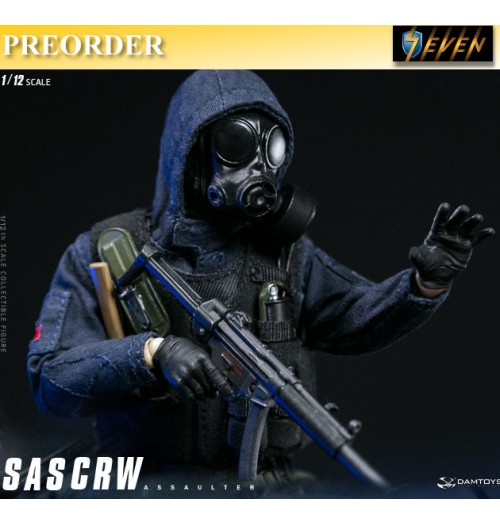 PREORDER: DAM Toys 1/12 Pocket Elite S : SAS CRW Assaulter