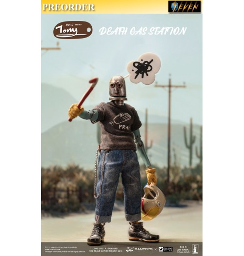 PREORDER: DAM Toys x Coal Dog 1/12 Death Gas Station series - Iron Head Tony: Boxset