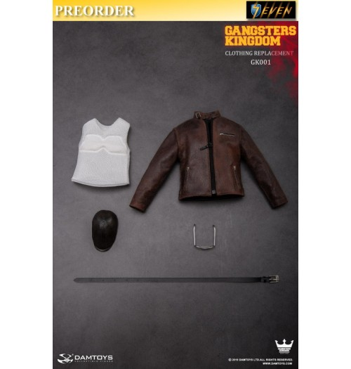 PREORDER: DAM Toys 1/6 Gangsters Kingdom GK001- J of Spades Costume Change Combination: Set
