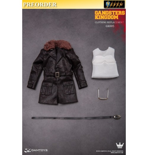 PREORDER: DAM Toys 1/6 Gangsters Kingdom GK005- 2 of Diamond Costume Change Combination: Set