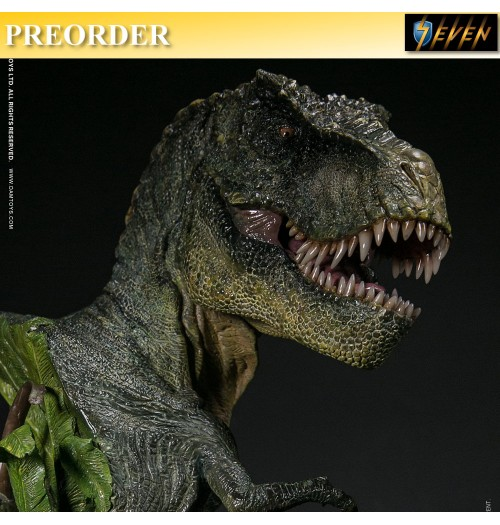 PREORDER: DAM Toys: Museum Series - T-REX Bust (Green Version)