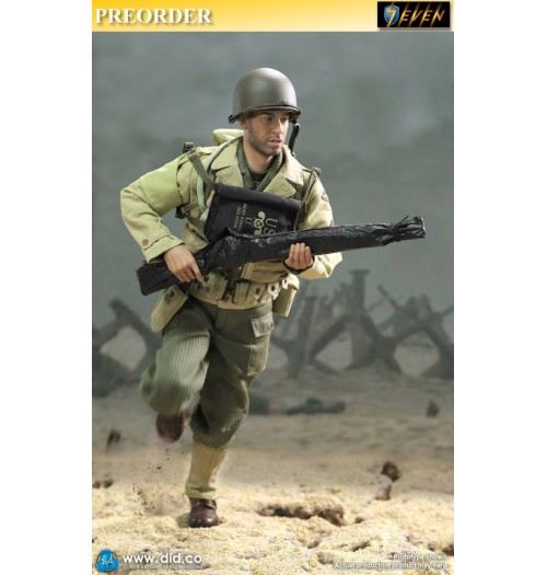 Out of stock DID 1/6 A80140 WWII US Ranger 2nd Battalion Series 1: Private Caparzo: Boxset