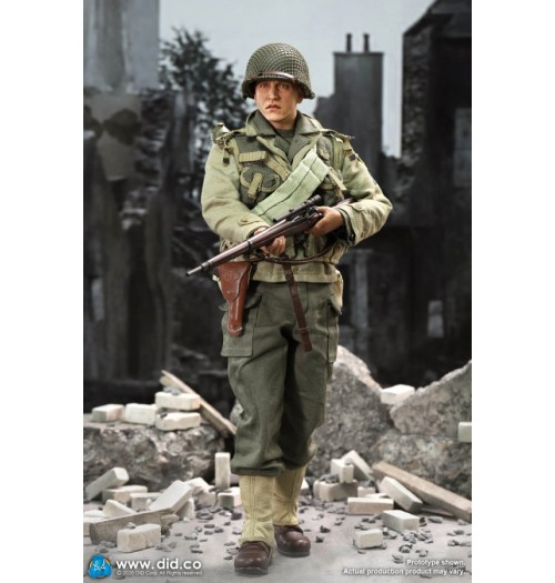 DID 1/6 A80144 WWII US 2nd Ranger Battalion Series 4 - Private Jackson: Boxset