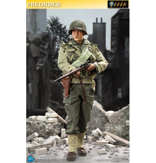 PREORDER: DID 1/6 A80144 WWII US 2nd Ranger Battalion Series 4 - Private Jackson: Boxset