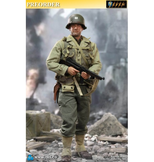Out of stock DID 1/6 A80145 WWII US 2nd Ranger Battalion Ser. 3 - Captain Miller: Boxset