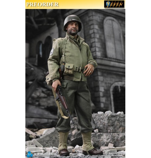 PREORDER: DID 1/6 A80150 WWII US 2nd Ranger Battalion S5- Sergeant Horvath: Boxset