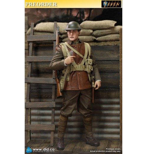 PREORDER: DID 1/6 B11011 WWI British Infantry Lance Corporal - William: Boxset