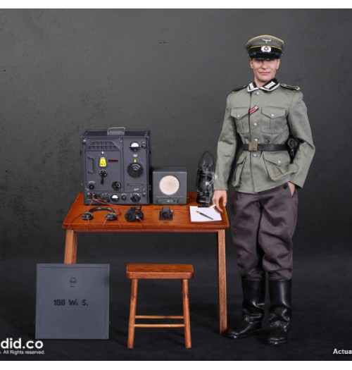 DID 1/6 D80133 WWII German Communications 3 WH Radio Operator: Box