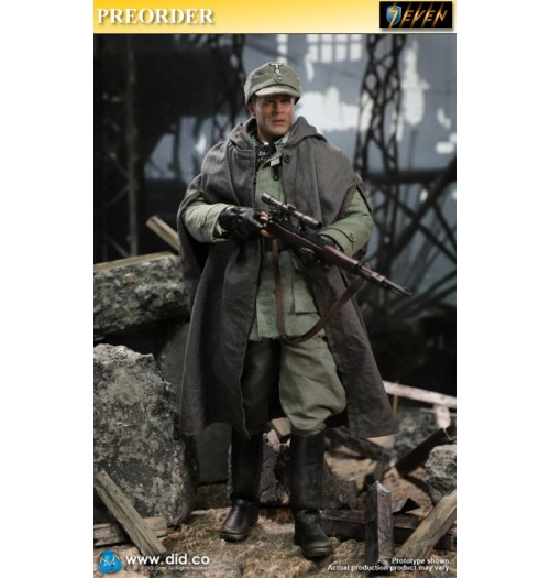 PREORDER: DID 1/6 D80138 Battle Of Stalingrad 1942 Major Erwin Konig: 10th Anniversary: Boxset