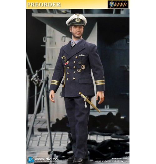 Out of stock DID 1/6 D80148 WWII German U-Boat Commander - Lehmann: Boxset