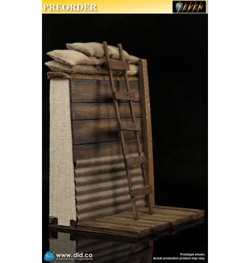 PREORDER: DID 1/6 E60061 WWI Trench Diorama: Set