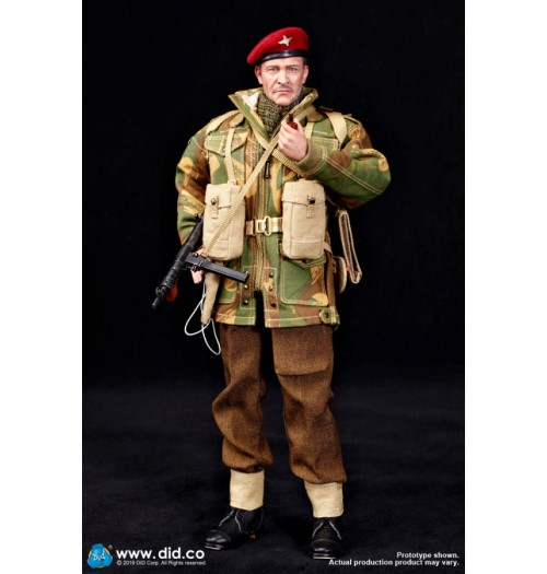 DID 1/6 K80135 British 1st Airborne Division (Red Devils) Commander Roy: Boxset