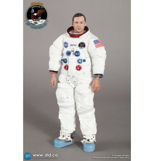 DID 1/6 NA001 Apollo 11 Astronauts - Commander Neil Armstrong: Boxset