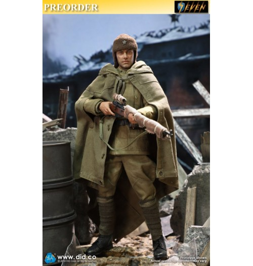 PREORDER: DID 1/6 R80139 Battle Of Stalingrad 1942 Vasily Grigoryevich Zaytsev: 10th Anniversary: Weathering Ver. Boxset