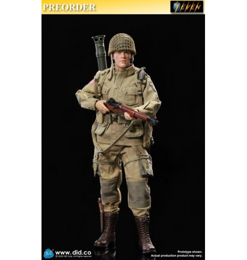 PREORDER: DID 1/12 PALM HERO WWII US 101st airborne Division - Ryan: Boxset