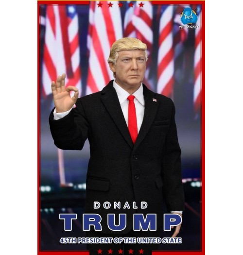 DID 1/6 45th President of USA- Donald Trump Boxset