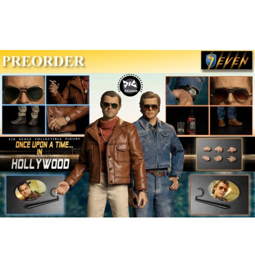 PREORDER: DJ-Custom 1/6 Hollywood time(Double time): Boxset