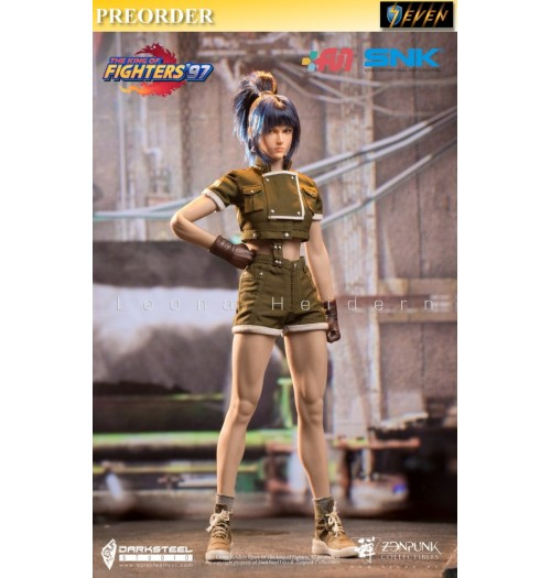 PREORDER: DarkSteel Toys × ZenPunk 1/6 DSA-001 THE KING OF FIGHTERS '97 - Leona: Boxset