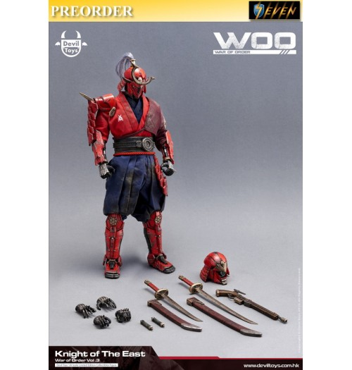 PREORDER: Devil Toys:1/6 War of Order 3 - Knight of the East: Boxset