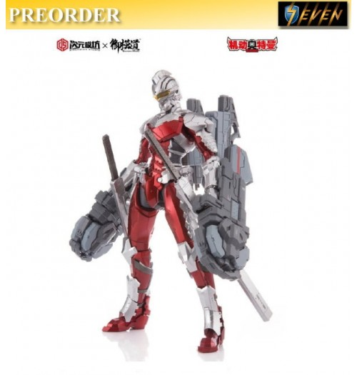 PREORDER: Dimension Studio x Eastern Model 1/6 Ultraman Seven Ver 7.3(Die-cast): Boxset