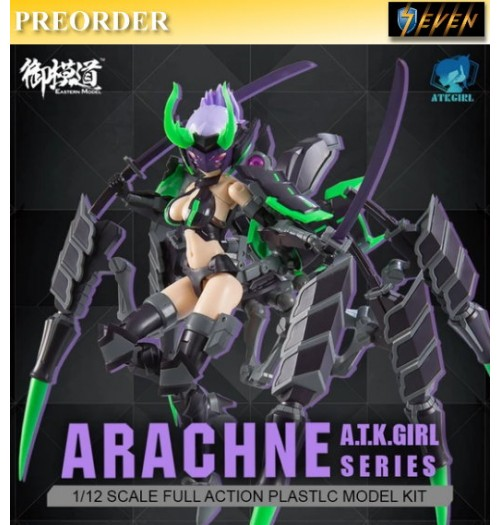 PREORDER: Eastern Model 1/12 A.T.K. Girl Arachne 2.0 (PLAMO): Model Kit Boxset