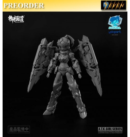 PREORDER: Eastern Model 1/12 A.T.K. Girl XUAN WU (Yolopark Exclusive): Model Kit Boxset