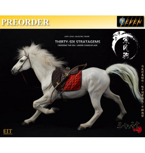PREORDER: End I Toys 1/6 36 Stratagems - Horse & Saddle (for Xue Ren Gui)