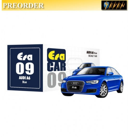 PREORDER: Era Car 1/64 AUDI - A6 - Blue: Diecast Model Car