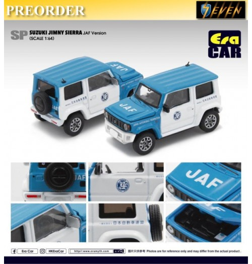 PREORDER: Era Car 1/64 Suzuki Jimny Sierra - JAF version: Diecast Model Car