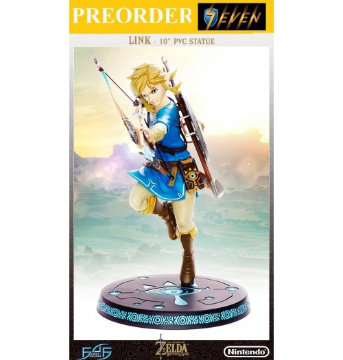 "PREORDER: First 4 Figures10"" Breath of the Wild- Link PVC Statue"