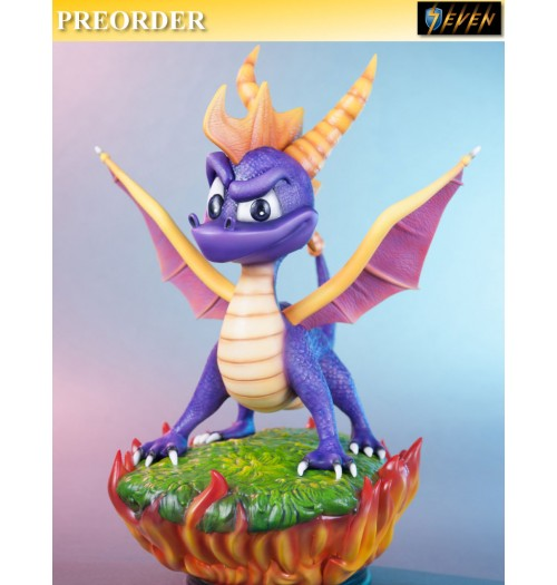 "PREORDER: First 4 Figures 15"" Spyro the Dragon Statue (Regular edition)"