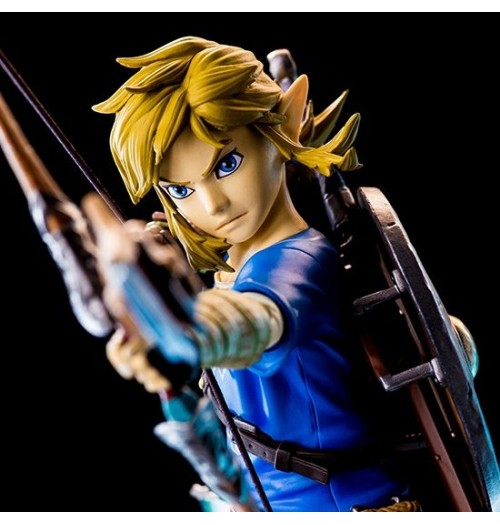"First 4 Figures 10"" Zelda Breath of the Wild - Link PVC Statue"