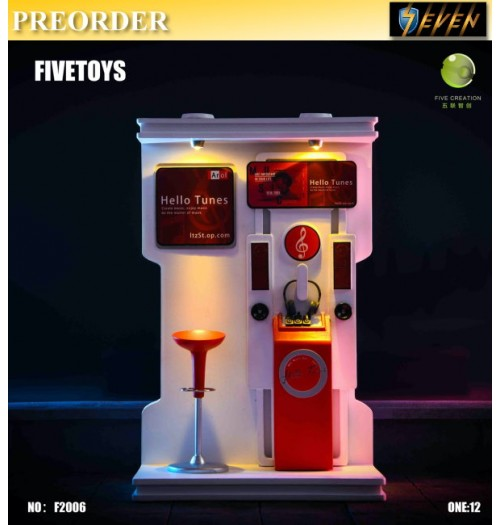 PREORDER: Five Toys 1/12 F2006 Juke Box: Diorama Set