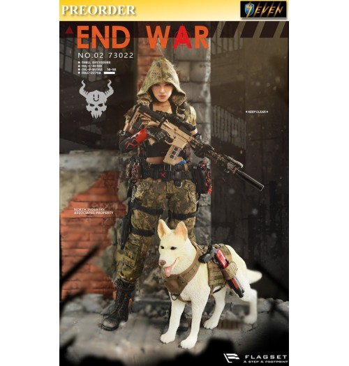 "PREORDER: Flatset 1/6 Doomsday War- End War Death Squad ""U"" Umir + Dog Suit: Boxset"