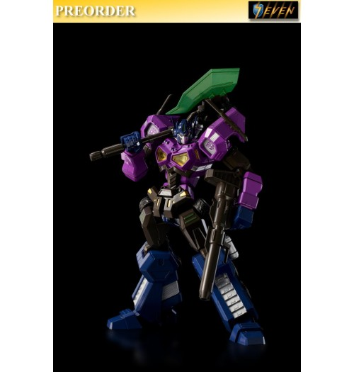 PREORDER: Flame Toys: 15.5cm Transformers - Shattered Glass Optimus Prime (Attack Mode): Boxset