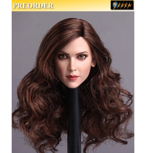 PREORDER: GACTOYS 1/6 Europe and America beauty head carving (Long Hair)