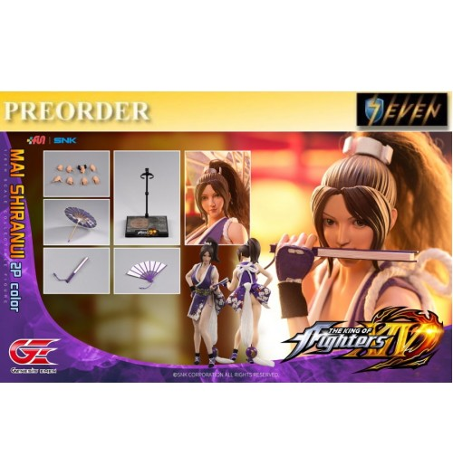 PREORDER: Genesis 1/6 KOF-MS02 The King Of Fighters XIV - Mai Shiranui 2P: Boxset