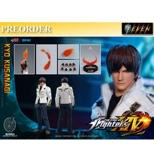 PREORDER: Genesis 1/6 The King Of Fighters XIV - Kyo Kusanagi: Boxset