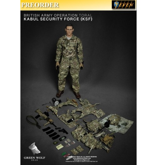 PREORDER: Green Wolf Gear 1/6 GWG-009 British Army Operation TORAL Afghanistan_ Boxset