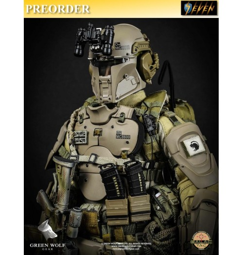 PREORDER: Green Wolf Gear X Galac-TAC 1/6 Desert Raider Box Set